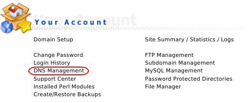 DA - DNS Management